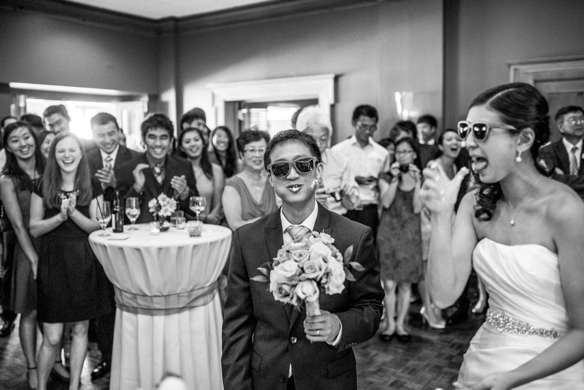 Documentary Wedding Photographers Cake Tasting