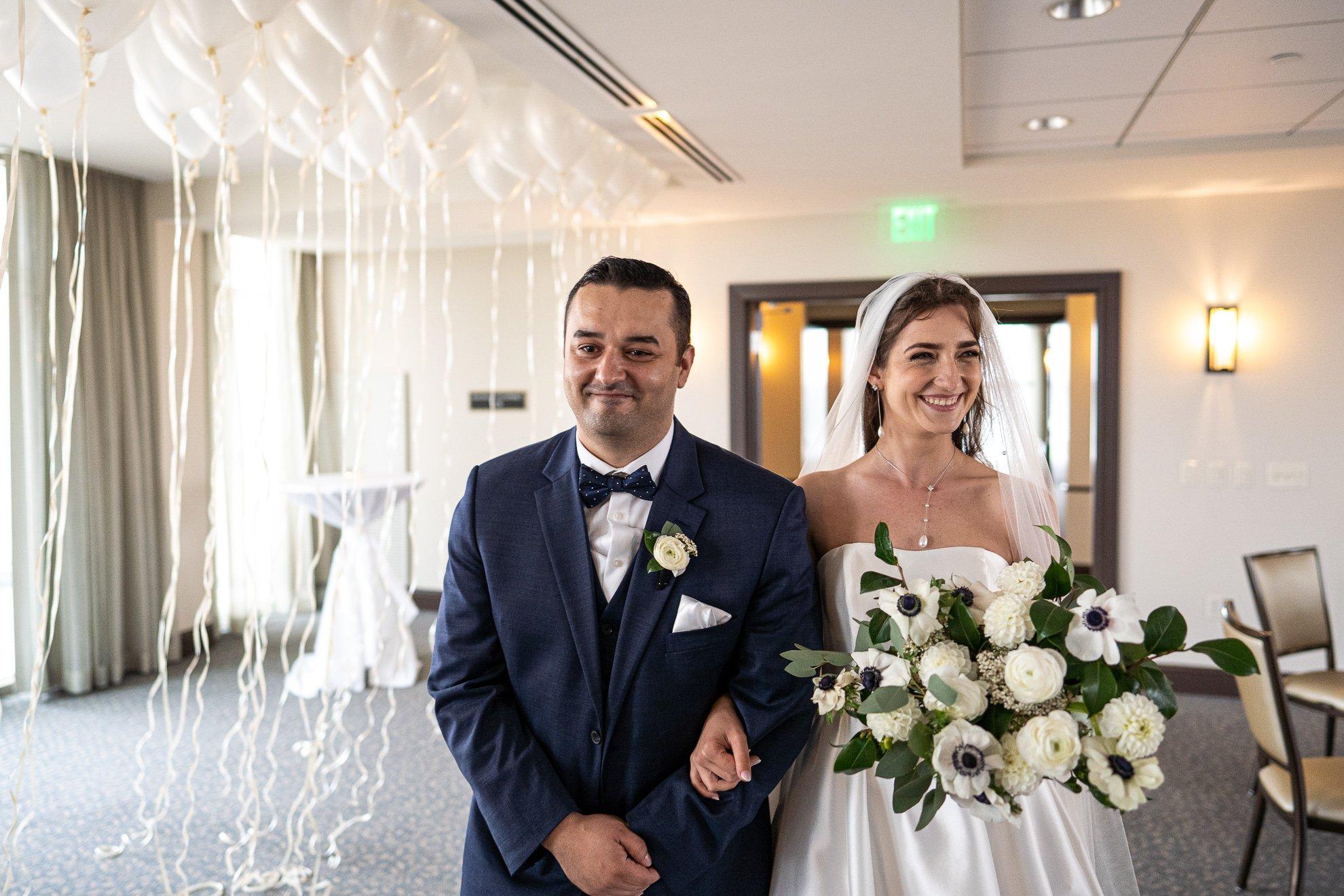 Madison WI Wedding Photographers ceremony entrance
