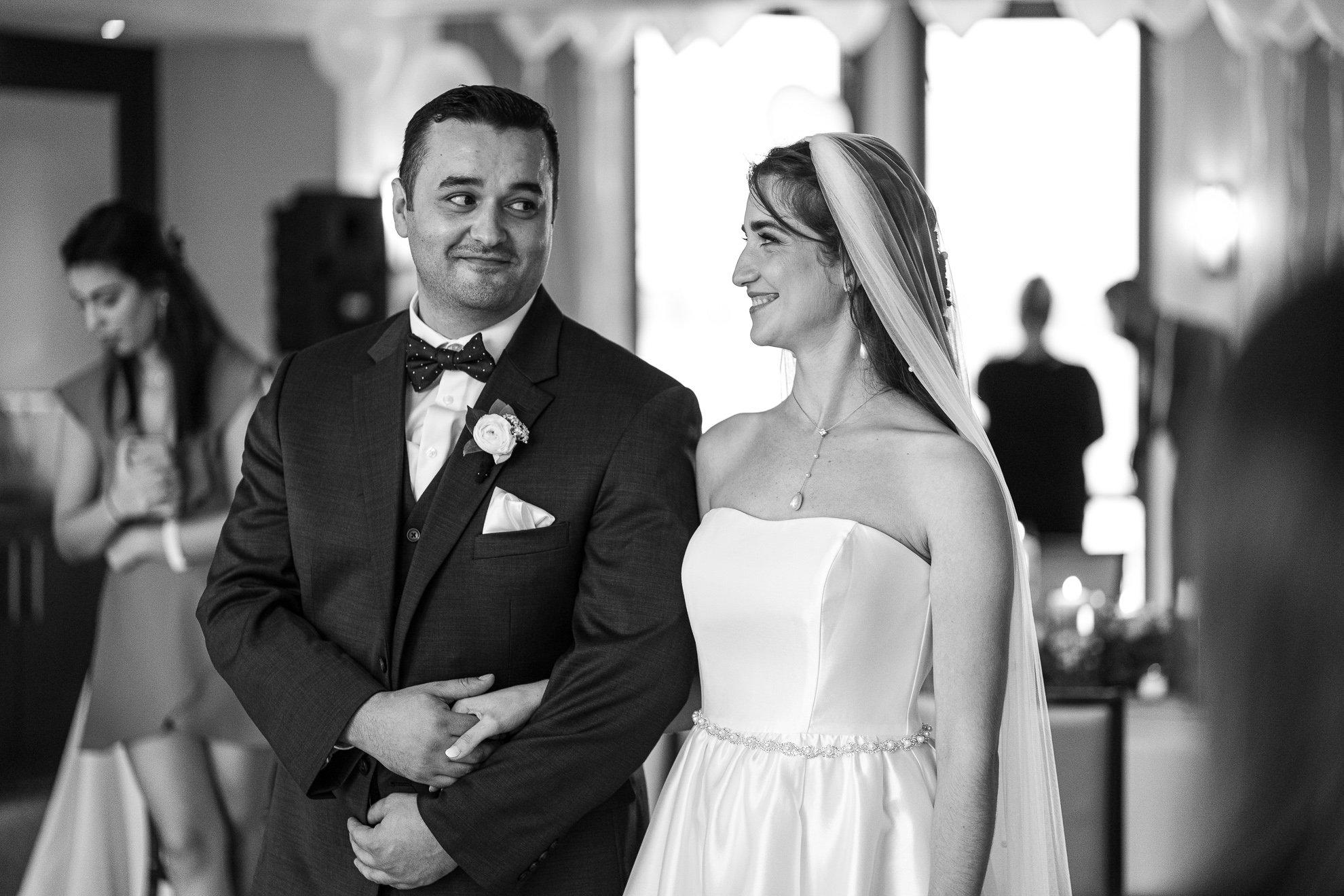 Madison WI Wedding Photographers ceremony look