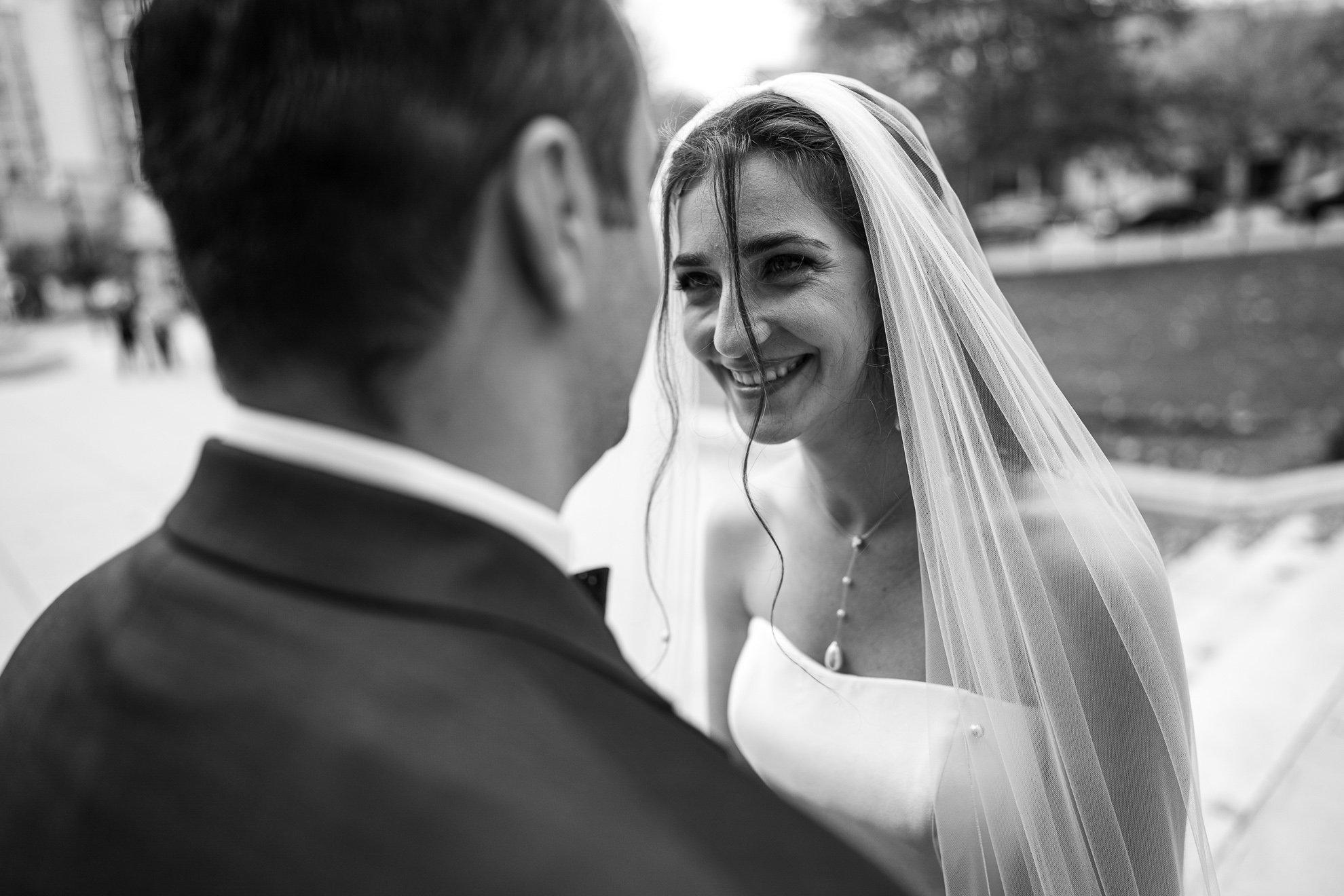 Madison WI Wedding Photographers happy bride