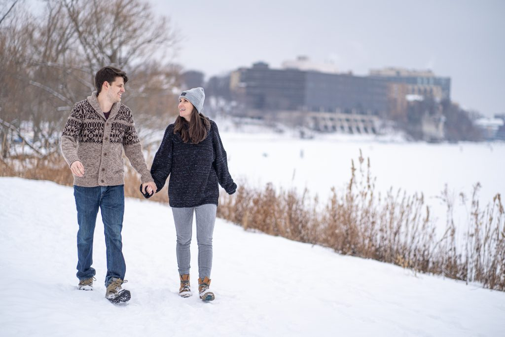 Engagement Photography Madison WI Winter Love