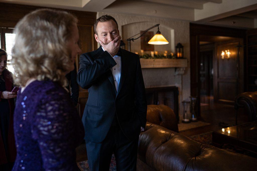 wedding photography wisconsin groom emotional