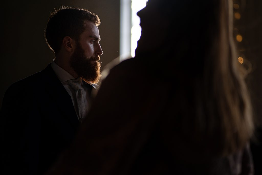 grooms profile wedding photography wisconsin
