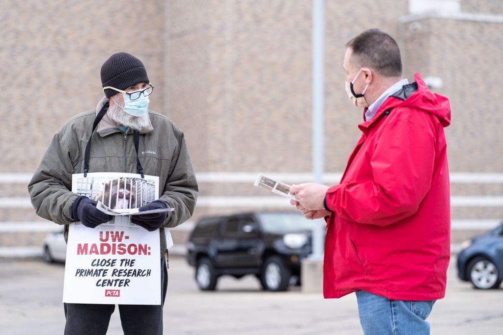 PETA Protest UW Madison Activism