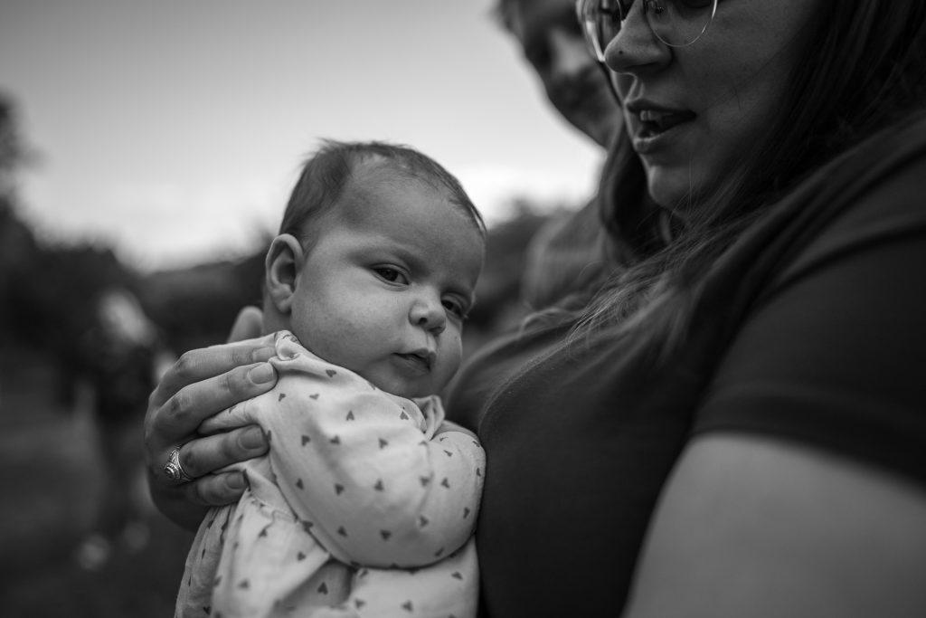 baby starring at camera madison wi