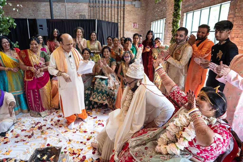 madison wi hindu wedding ceremony photography