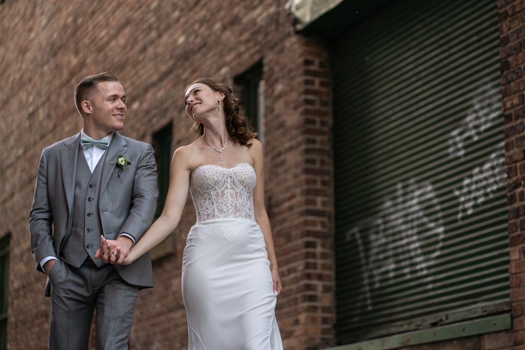 madison wi wedding photography alley